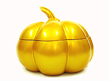 Gold Pumpkin Box
