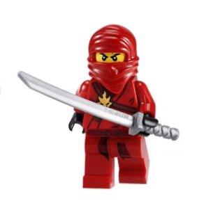 Red Lego Ninja