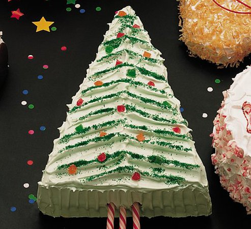 Christmas Tree Cake BC