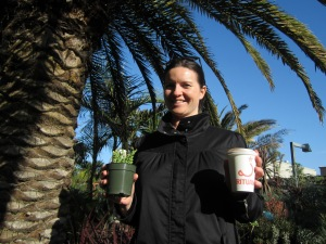 Justina, Plant and Coffee