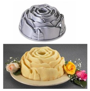 Rose Bundt Cake Pan