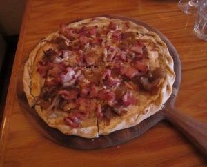 Alsacian Pizza