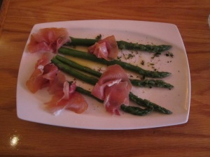 Prosciutto and Asperagus
