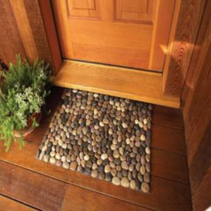 River Rock Door Mat