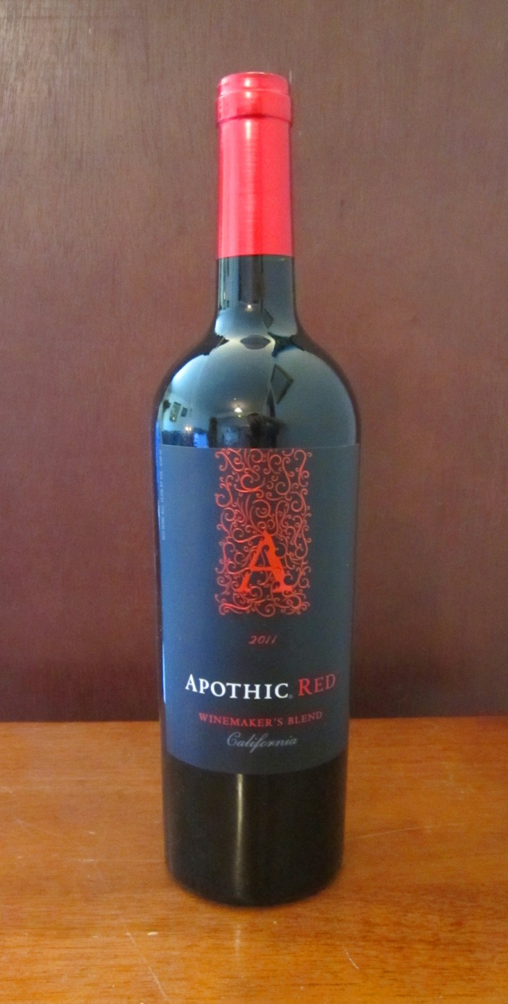 Apothic Red The Feng Shui Foodie