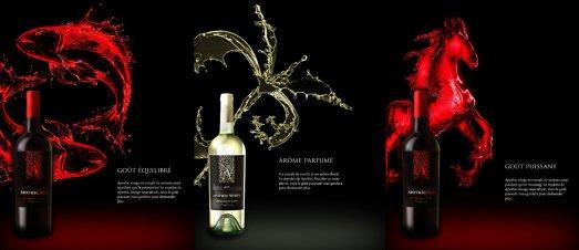 Apothic Wine Art