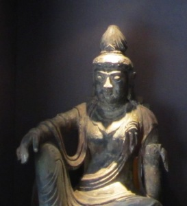 Asian Statue in Niche