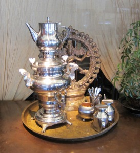 Samovar and Tree