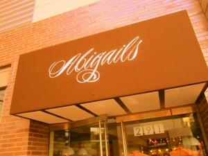Abigails Signage