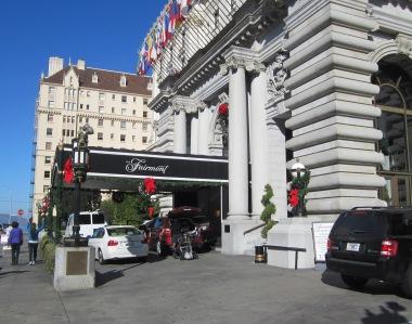 Fairmont Entrance