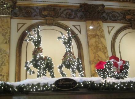 Fairmont Reindeer