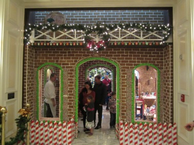 Gingerbread House Back Entrance