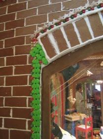 Gingerbread House Detail