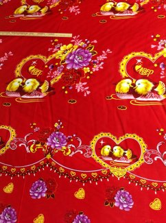 Mandarin Duck Fabric