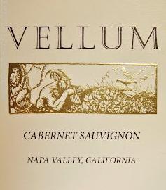 Vellum Cabernet Label