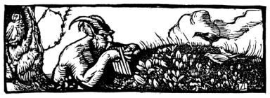 Vellum Woodcut